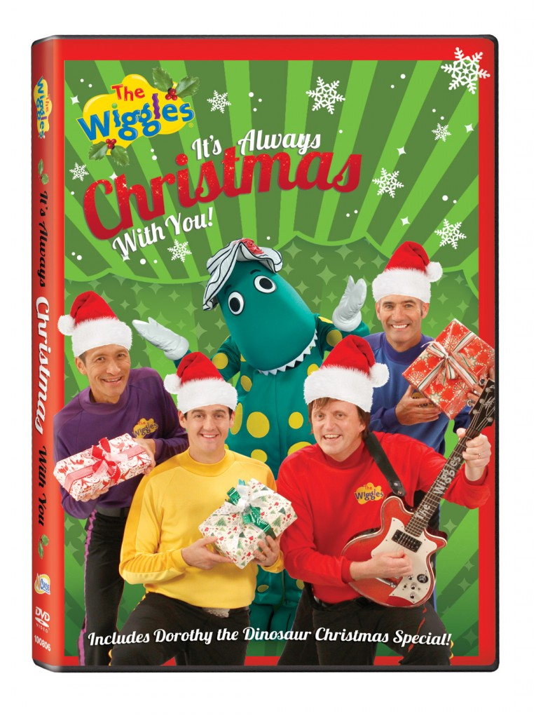 Wiggles Always Christmas with You 765x1024 Tons of fun holiday movies for your enjoyment!