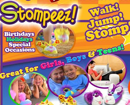 image0011 Stompeez Kids Slippers Review Giveaway!