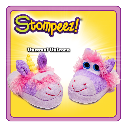 unicorn Stompeez Kids Slippers Review Giveaway!
