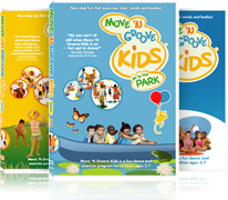 dvd 3pack Move N Groove Kids DVD 3 pack set Review Giveaway