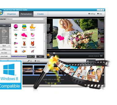 topfeature Wondershare DVD Slideshow Builder Deluxe Review Giveaway (5 winners)