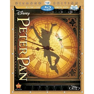 61ddJpPpQXL. SL500 AA300  Peter Pan Diamond Edition Now Available on DVD!