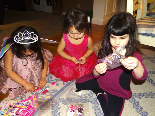 DSC09326 We Had a Mega Bloks Barbie Party! @MegaBloks #Barbie