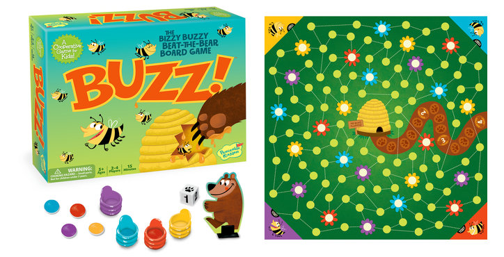 GM110 SPREAD Peaceable Kingdom Board Games and Sticker Packs Review Giveaway!