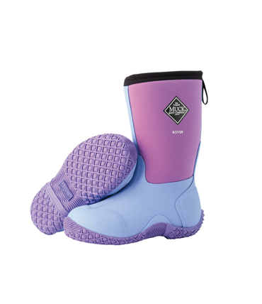 Muck Kids Rover Lilac large Muck Boots  Kids Rain/Snow Boots Review Giveaway