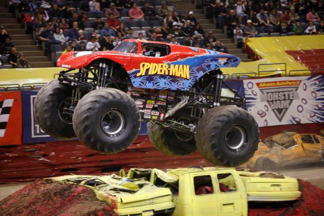 Spiderman10 06 jpg Monster Jam 4 Ticket Giveaway  #RhodeIsland