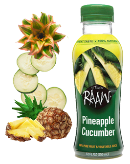 pineapple cucumber2 Drinking my RAAW Juice today...