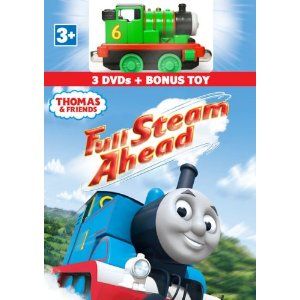 51iOuIk07OL. SL500 AA300  Barney: Barney Loves You 3 DVD Set/ Thomas & Friends  Full Steam Ahead 3 DVD & Bonus Toy Gift Set Review Giveaway!
