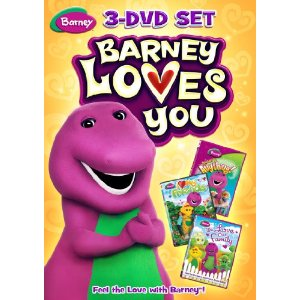 51jv3DxZk2L. SL500 AA300  Barney: Barney Loves You 3 DVD Set/ Thomas & Friends  Full Steam Ahead 3 DVD & Bonus Toy Gift Set Review Giveaway!