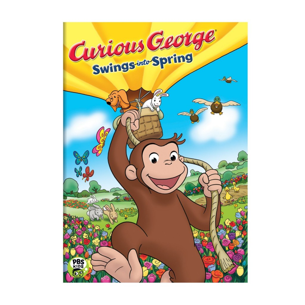 91CJLIqbFLL. AA1500  1024x1024 Curious George Swings into Spring!
