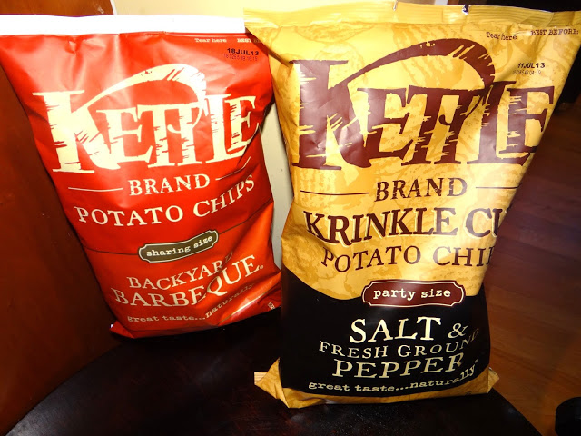 DSC09962 Watching the Basketball Tournaments with Kettle Brand Potato Chips! #KettleMadness #cbias