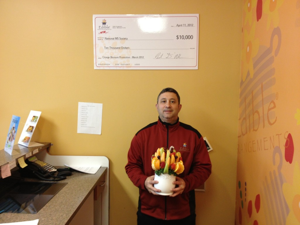 Edible Arrangements. Nick with Orange Blossom 1024x768 Edible Arrangements MS Support and a Edible Arrangements Giveaway!