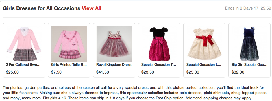 Screen Shot 2013 03 18 at 2.33.56 PM Doing Some Online Retail Shopping for the Perfect Girl Graduation Dress at Totsy and Zulily! #cbias