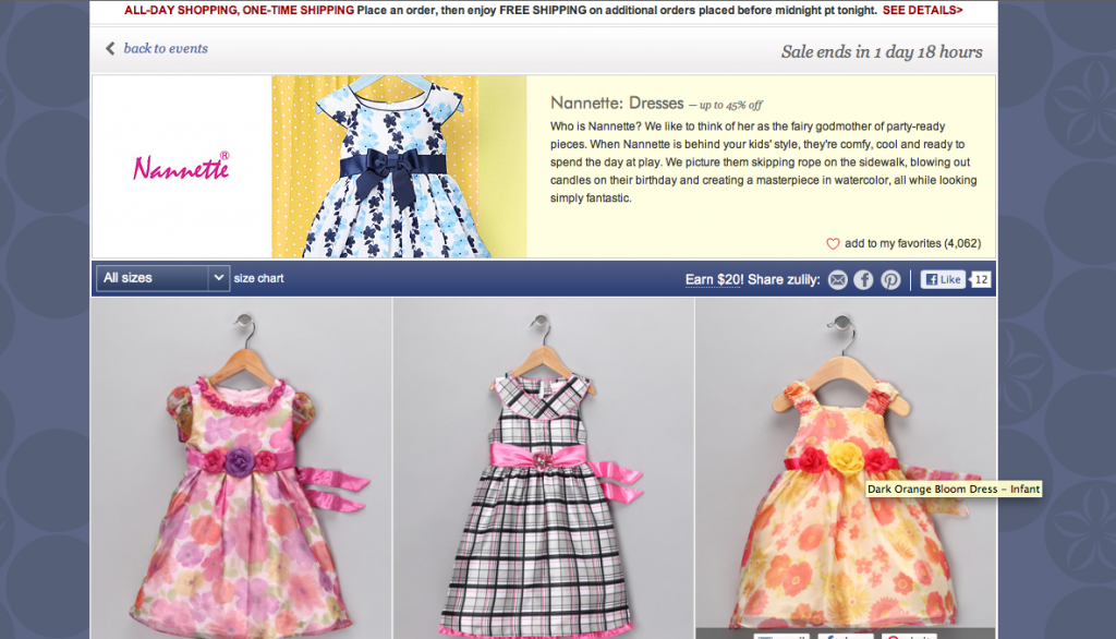 Screen Shot 2013 03 18 at 2.56.20 PM 1024x586 Doing Some Online Retail Shopping for the Perfect Girl Graduation Dress at Totsy and Zulily! #cbias