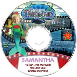 The Little Mermaid My FairyTale Personalized Kids DVD/Book Review Giveaway!