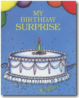 my birthday surprise My FairyTale Personalized Kids DVD/Book Review Giveaway!