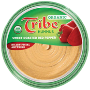 organic sweetroastedredpepper 1 Zane loves his Tribe Hummus