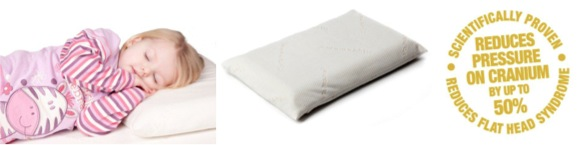 5D26521C 48CB 4612 BFD0 BF83067F2C82 ClevaFoam Toddler Pillow to get Zane sleeping peacefully!