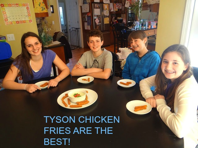 DSC00340 Tyson Chicken Fries and Avocado Ranch Dipping Sauce for the busy teenagers! #ChickenFryTime #cbias