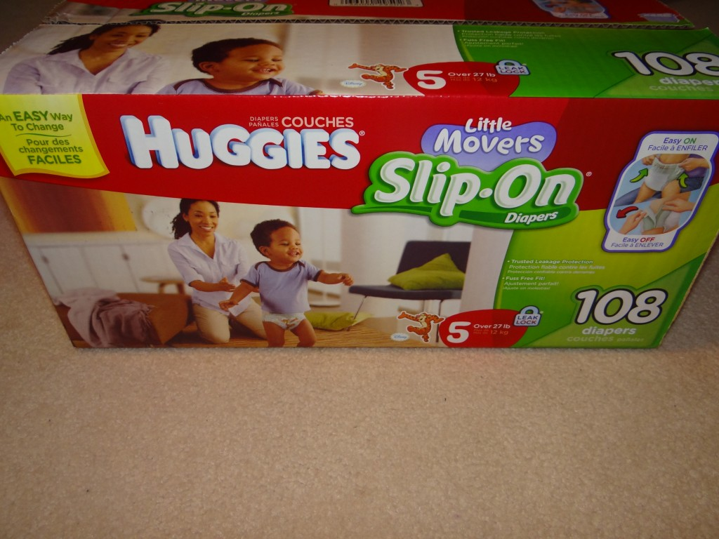 DSC00533 1024x768 Huggies Little Movers Slip On Diapers! #FirstFit