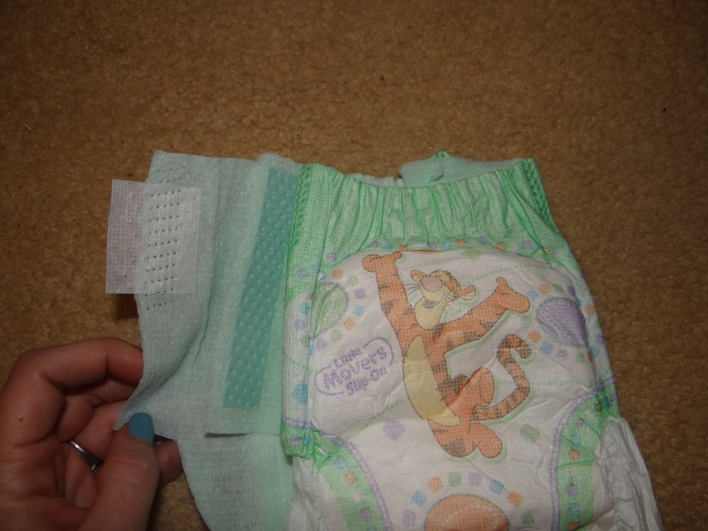 DSC00542 1024x768 Huggies Little Movers Slip On Diapers! #FirstFit