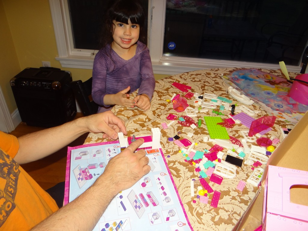 DSC00563 1024x768 Barbie Build n Style Luxury Mansion Review Giveaway  2 winners!