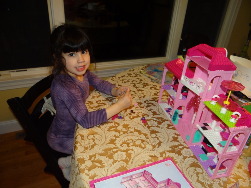 DSC00567 1024x768 Barbie Build n Style Luxury Mansion Review Giveaway  2 winners!