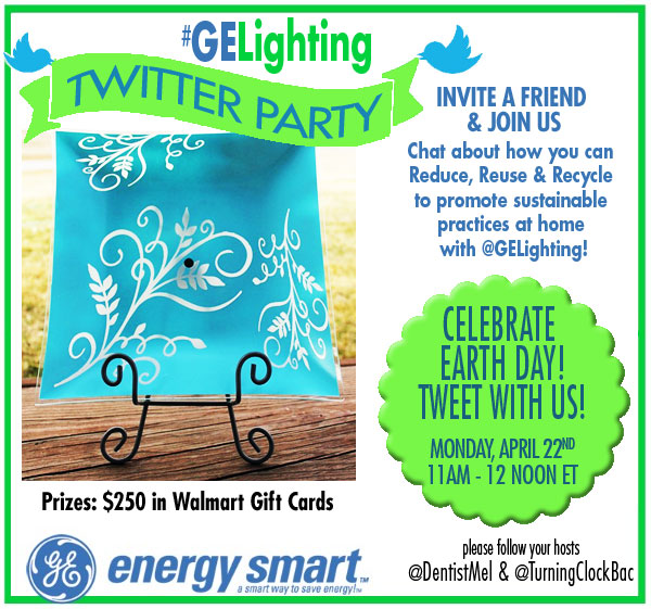 GELighting Twitter Party RSVP1 Celebrate Earth Day with us at the #GELighting Twitter Party 4/22 #cbias
