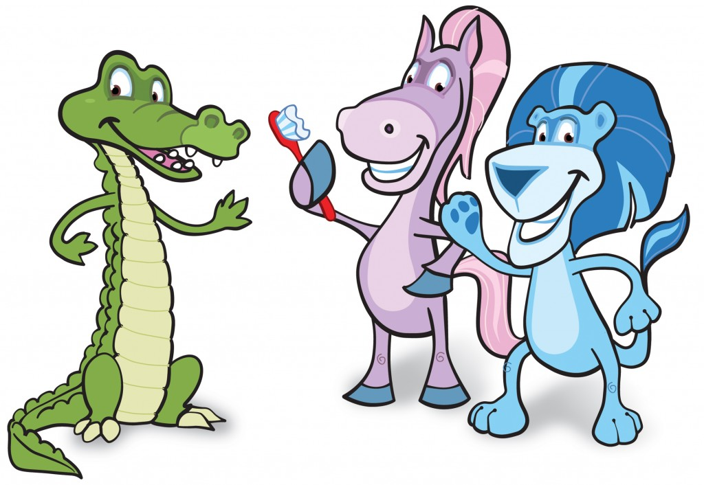 chomper chums group copy 2 1024x706 United Concordia Dental makes Brushing Fun!