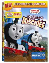 image0092 Thomas and Friends: Railway Mischief! DVD Review