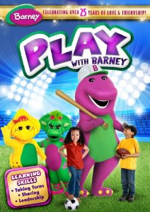 512ovuz GeL. SY300  Barney  Play With Barney DVD!