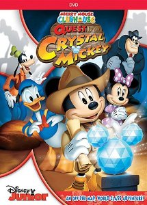 61VOYfkG0KL. SY300  Mickey Mouse Clubhouse: The Quest For Crystal Mickey!