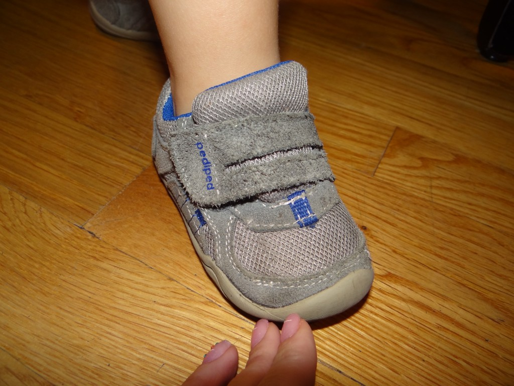 DSC00957 1024x768 Pediped Kids Shoes Review and Giveaway (0 24 months/boy or girl)