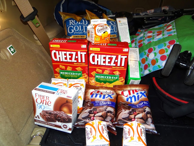 DSC01189 Getting ready to go on a Memorial Day road trip with Stop & Shop Snacks and their Gas Rewards Program! #cbias
