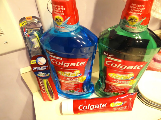 DSC01250 Putting My Familys Best Smile Forward With Colgate! #TotalSmile #cbias