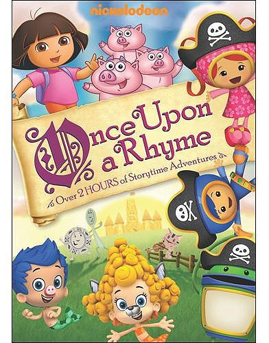 Once Upon a Rhyme DVD Nickelodeon Favorites: Once Upon a Rhyme