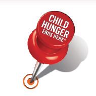 pushpin Child Ends Hunger Here Thanks to ConAgra Foods! #ChildHunger