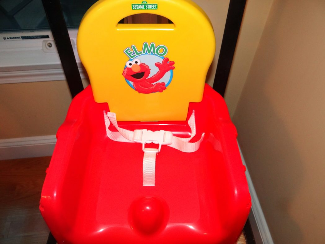 Sesame Street Elmo Fruits N Fun Booster Seat Review