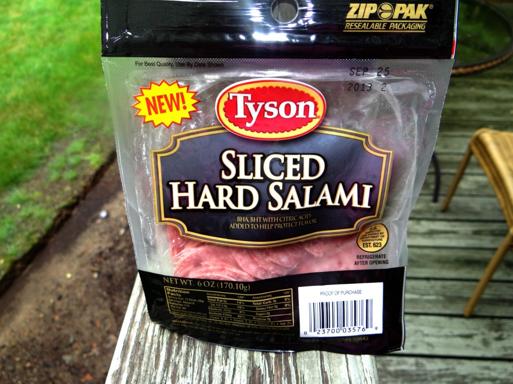DSC01492 1024x768 Summer Pasta Salad with Tyson Sliced Salami! #WhatsYourTopping #cbias