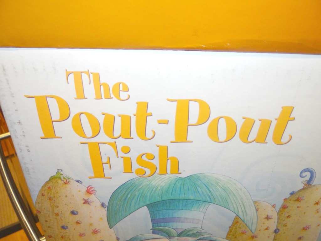 DSC01579 1024x768 Kohls Cares Pout Pout Fish Plushes, Book, and Tote Review Giveaway!