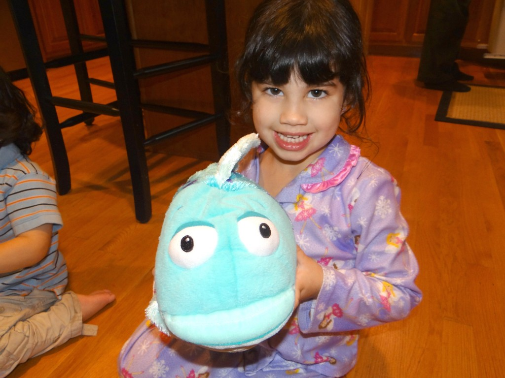 DSC01581 1024x768 Kohls Cares Pout Pout Fish Plushes, Book, and Tote Review Giveaway!