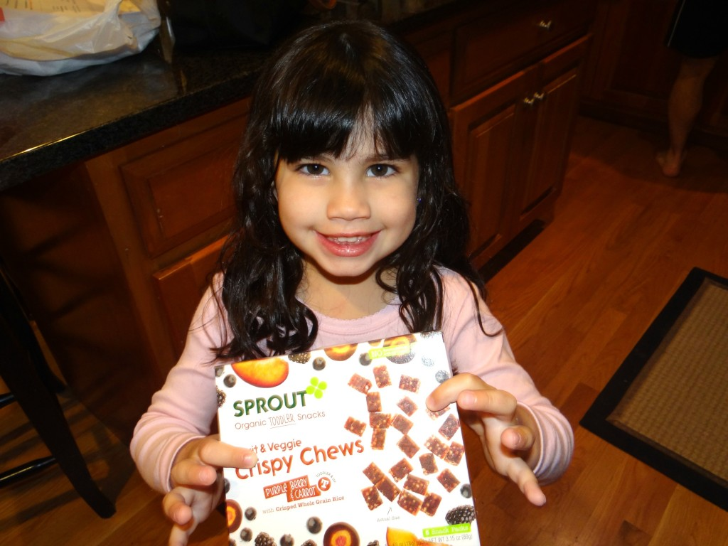 DSC01750 1024x768 Sprout Toddler Snacks Review and a Sprout Giveaway! #SproutFoods