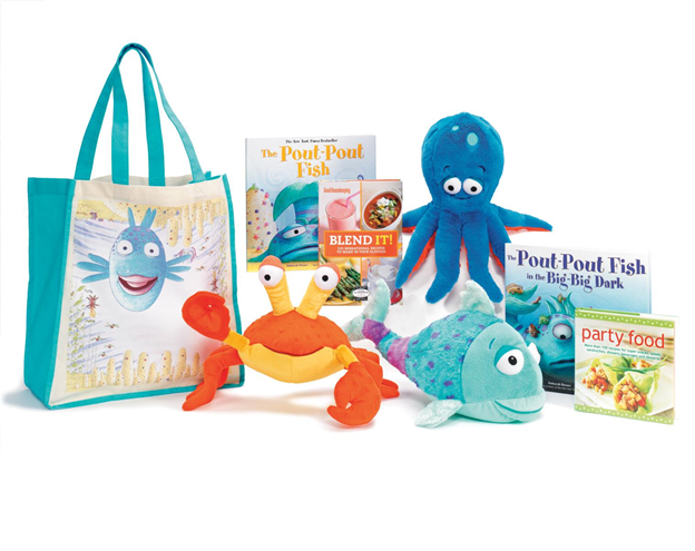image Kohls Cares Pout Pout Fish Plushes, Book, and Tote Review Giveaway!