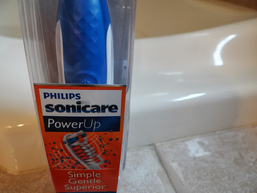 DSC01798 I Love the new Philips Sonicare PowerUp Toothbrush and a PowerUp Giveaway! #powerupursmile #cbias
