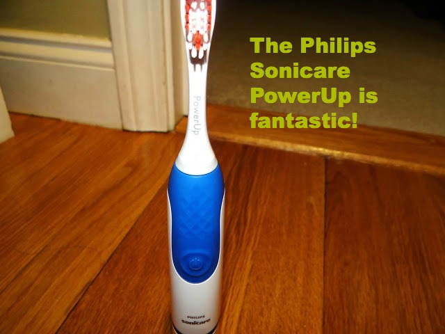 DSC01818 I Love the new Philips Sonicare PowerUp Toothbrush and a PowerUp Giveaway! #powerupursmile #cbias