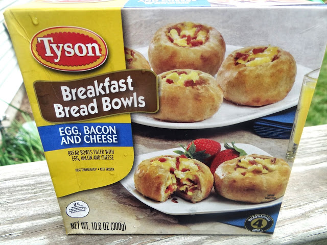 DSC02040 Enjoying a Great Family Breakfast with Tyson Breakfast Bread Bowls #TysonBreakfast #cbias