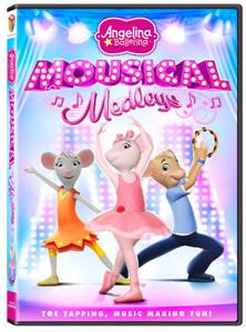 angellina ballerina Barney:Imagine With Barney and Angelina Ballerina: Mousical Medleys Review Giveaway!