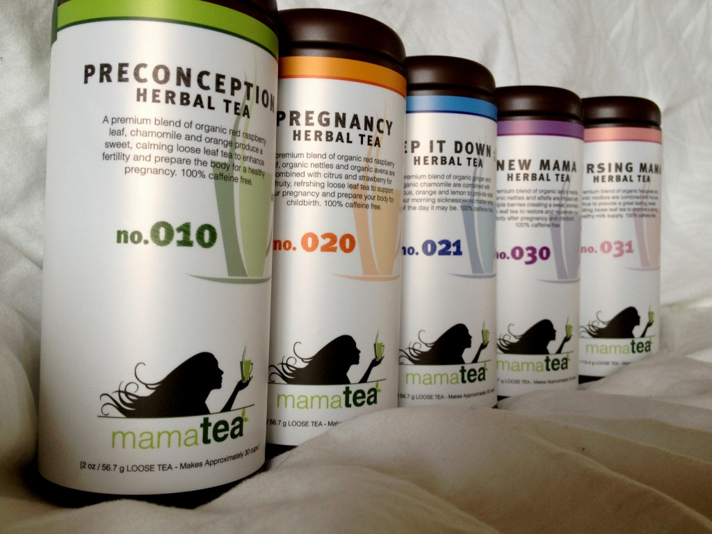 mamatea lineup 1024x768 mamatea Review Giveaway(Teas for Preconception, Pregnancy, After Delivery and Nursing)