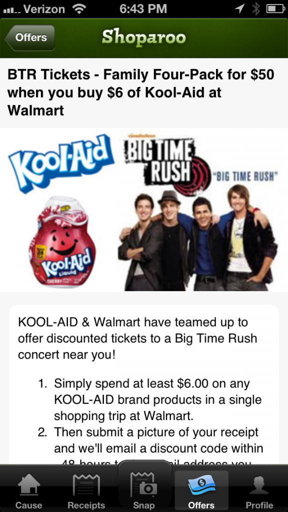 photo1 576x1024 Big Time Rush Cool Kool Creation Contest and a Kool Aid Playdough Craft! #KoolAidBTRtour #cbias