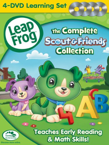 51hDQ NcPRL LeapFrog The Complete Scout and Friends Collection!